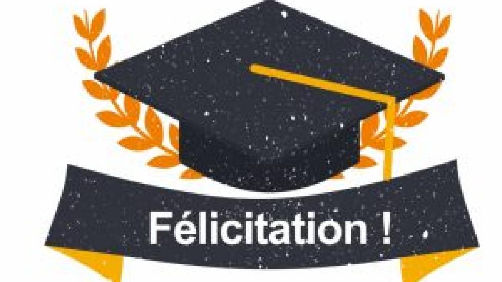 Félicitation pour soutenance de doctorat sciences